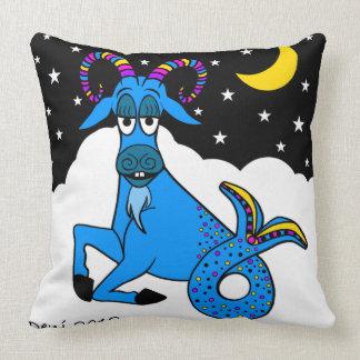 Capricorn Cutie Throw Pillows