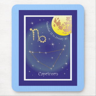 Capricorn December 22 tons of January 20 mouse Mouse Pad