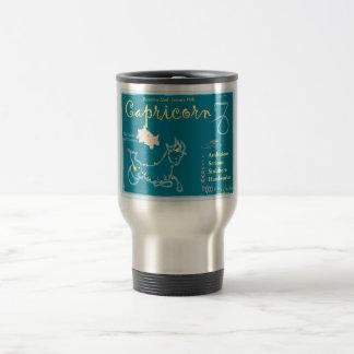 Capricorn December Travel Mug