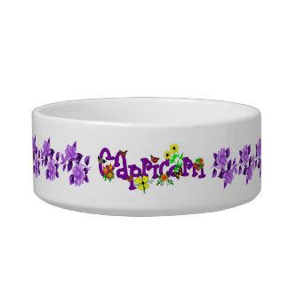 Capricorn Flowers Bowl