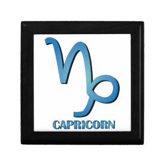 Capricorn Trinket Boxes