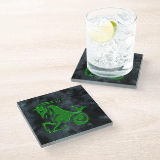 Capricorn Glass Coaster
