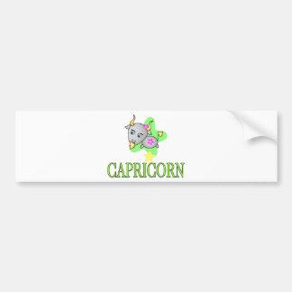 Capricorn Goat Bumper Sticker
