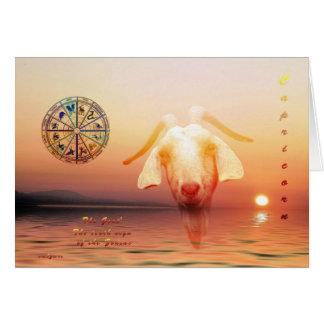 capricorn greeting cards