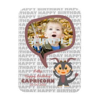Capricorn Happy Birthday Keepsake for kids Magnet