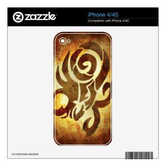 Capricorn Horoscope Decals For iPhone 4
