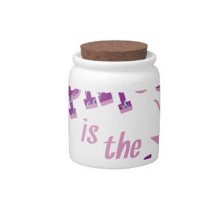Capricorn Is Best Candy Jar