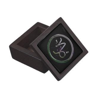 Capricorn Jewelry Box