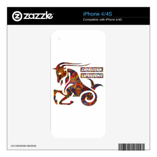CAPRICORN MAYAN HOROSCOPES PRODUCTS DECALS FOR THE iPhone 4S