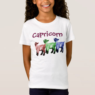 Capricorn Multicolored Goats Shirt