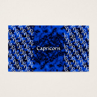 Capricorn Pattern Business Card