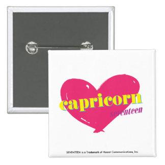 Capricorn Pinback Button