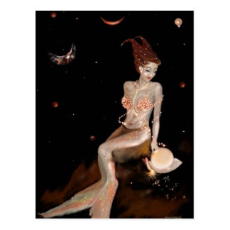 Capricorn, postcard
