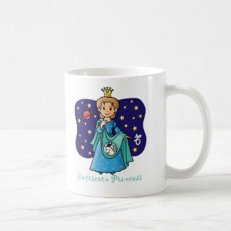 Capricorn Princess Coffee Mugs