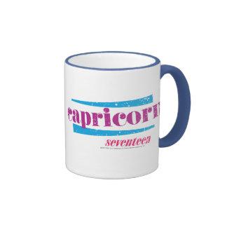 Capricorn Purple Coffee Mugs