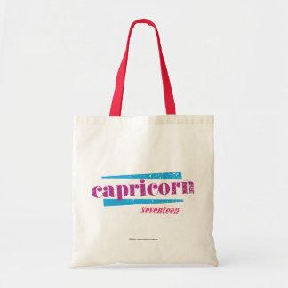 Capricorn Purple Tote Bag