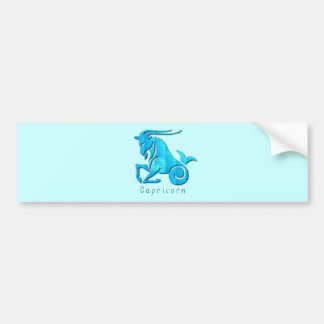 Capricorn Sign Bumper Sticker