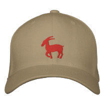 Capricorn Sign Embroidered Baseball Hat