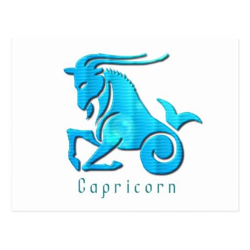 Capricorn Sign Postcard