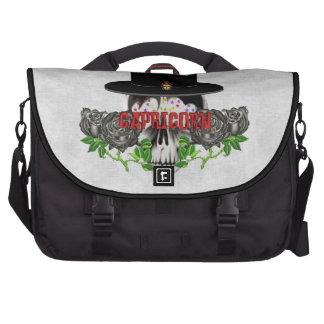 Capricorn Skull Laptop Bags