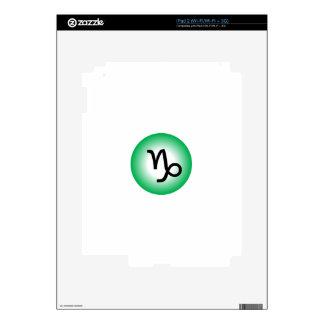 CAPRICORN SYMBOL iPad 2 SKIN