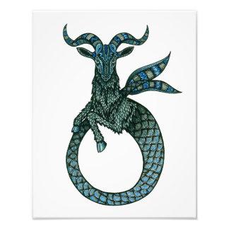 Capricorn Symbol Photo Print