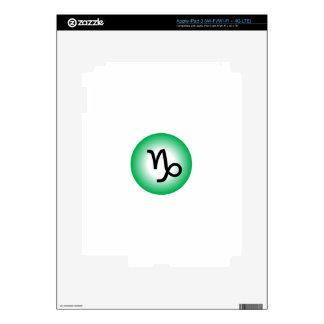 CAPRICORN SYMBOL SKINS FOR iPad 3