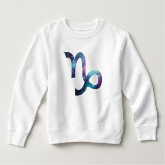 Capricorn Symbol Toddler Fleece Sweatshirt