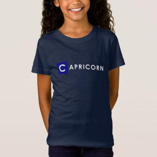 CAPRICORN T SHIRT - Girls' Zodiac Color Blue Tee