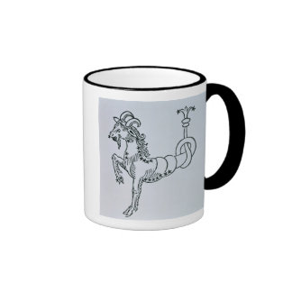 Capricorn the Goat an illustration from the Poe Mugs