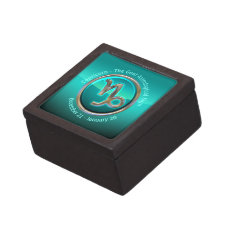 Capricorn - The Goat Astrological Sign Keepsake Box