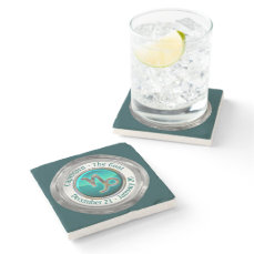 Capricorn - The Goat Astrological Sign Stone Coaster