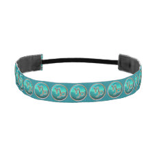 Capricorn - The Goat Zodiac Sign Athletic Headband