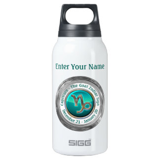 Capricorn - The Goat Zodiac Sign Insulated Water Bottle