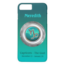 Capricorn - The Goat Zodiac Sign iPhone 7 Plus Case