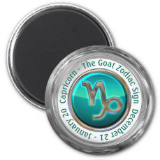 Capricorn - The Goat Zodiac Sign Magnet