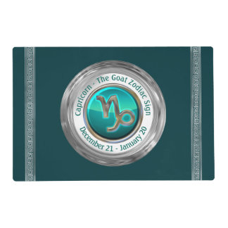 Capricorn - The Goat Zodiac Sign Placemat