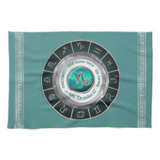 Capricorn - The Goat Zodiac Sign Towel