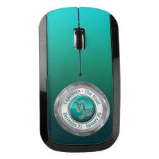 Capricorn - The Goat Zodiac Sign Wireless Mouse
