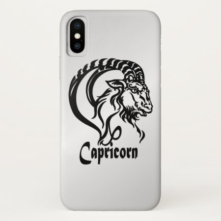 Capricorn the Sea Goat Zodiac Case-Mate iPhone Case
