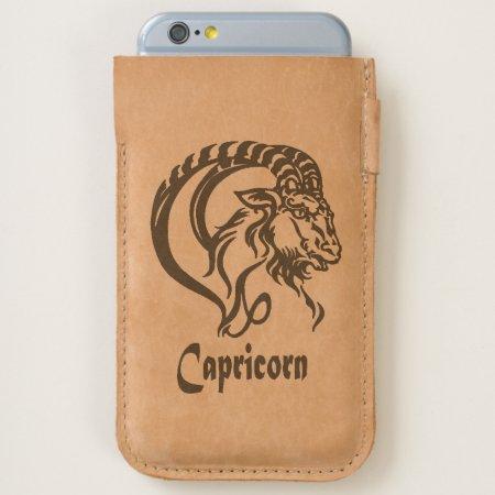 Capricorn the Sea Goat Zodiac iPhone 6/6S Case