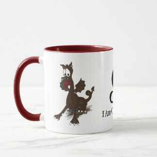 Capricorn Wisely Dragons™ North Node of the Moon M Mug