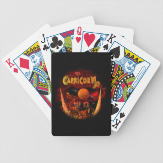 Capricorn zodiac astrology horoscope bicycle poker cards