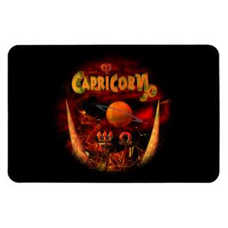 Capricorn zodiac astrology horoscope rectangular photo magnet