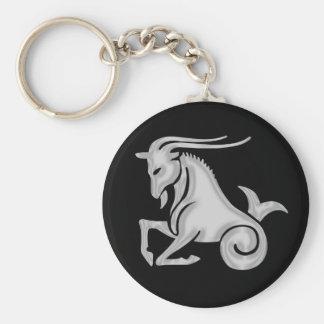 Capricorn Zodiac Astrology Keychain