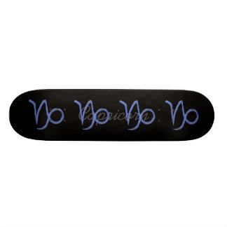 Capricorn. Zodiac Astrology Sign. Skateboard