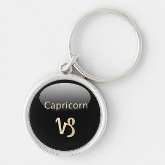 Capricorn zodiac astrology star sign keychain