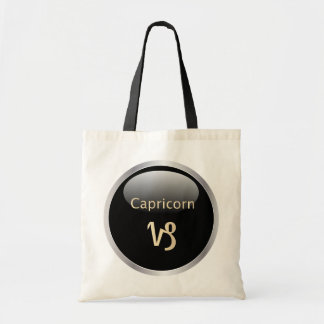 Capricorn zodiac astrology star sign tote bag