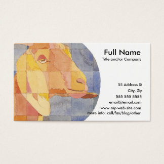 Capricorn Zodiac Business Card