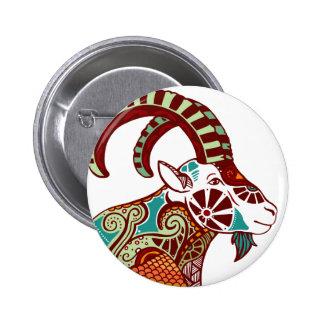 Capricorn Zodiac - Ibex Pins